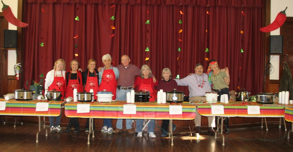 Thanks to all of our chili contestants!